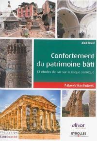 Confortement du patrimoine bâti