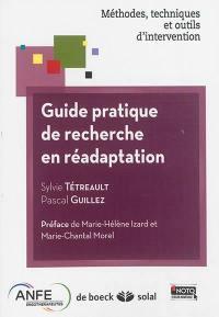 Guide pratique de recherche en réadaptation