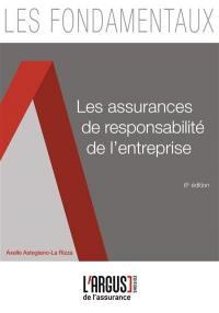 Les assurances de responsabilité de l'entreprise