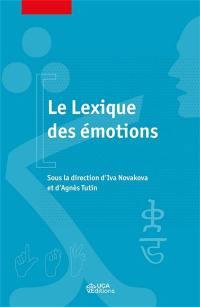 Le lexique des émotions