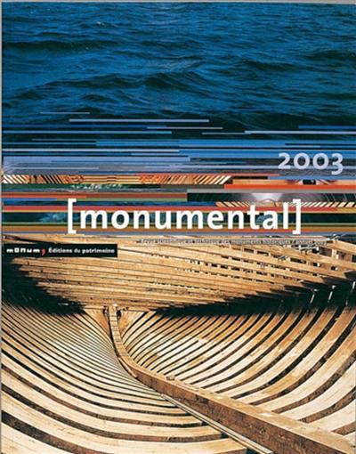 Monumental. n° 2003, Le patrimoine maritime