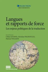 Langues et rapports de force
