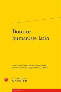 Boccace humaniste latin