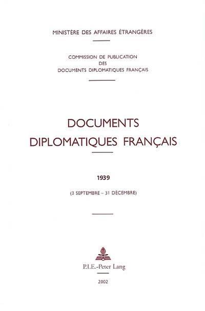 Documents diplomatiques français. Volume 2-7, 3 septembre-31 décembre