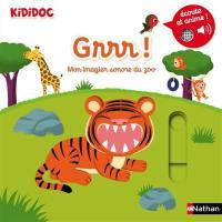 Grrr ! : mon imagier sonore du zoo
