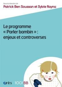 Le programme Parler bambin
