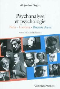 Psychanalyse et psychologie