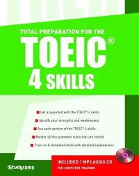 Total preparation for the TOEIC, 4 skills