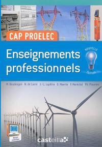 CAP Proelec : enseignements professionnels