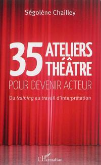 35 ateliers théâtre pour devenir acteur