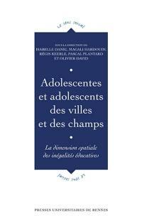 Adolescentes et adolescents des villes et des champs