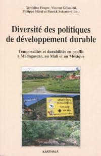 Diversité des politiques de développement durable