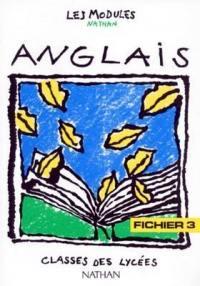 Anglais : classes des lycées, fichier 3