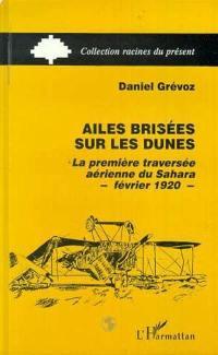 Ailes brisées sur les dunes