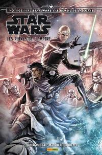 Voyage vers Star Wars, épisode VII, Les ruines de l'Empire