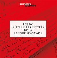 Les 100 plus belles lettres de la langue française