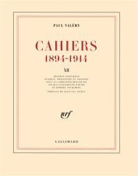 Cahiers. Volume 12, 1913-mars 1914