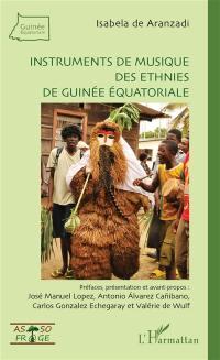 Instruments de musique des ethnies de Guinée équatoriale