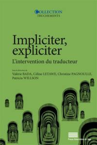 Impliciter, expliciter