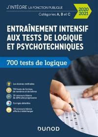 Entraînement intensif aux tests de logique et psychotechniques
