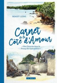 Carnet de la Côte d'Amour