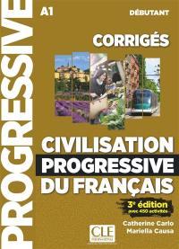 Civilisation progressive du français, corrigés