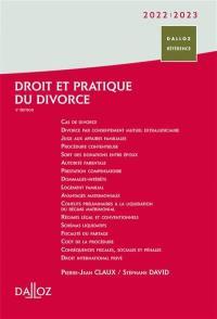 Droit et pratique du divorce 2022-2023