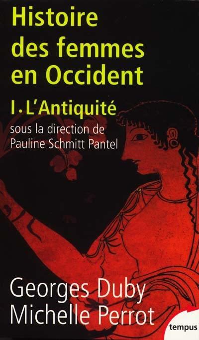 Histoire des femmes en Occident, L'Antiquité, Vol. 1