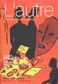 Autre (L'). n° 4, Adolescences