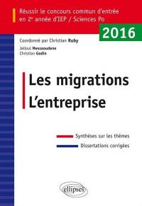 Les migrations, l'entreprise