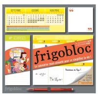 Je m'organise avec Frigobloc, le calendrier maxi-aimanté pour se simplifier la vie !