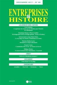 Entreprises et histoire. n° 89, L'aluminium dans l'histoire