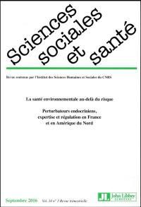 Sciences sociales et santé. n° 3 (2016), La santé environnementale au-delà du risque