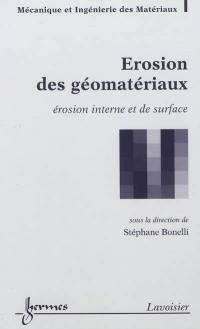 Erosion des géomatériaux