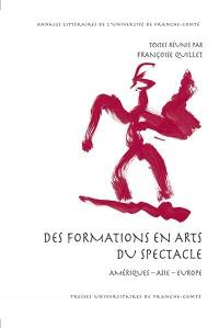 Des formations en arts du spectacle