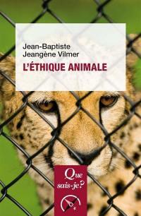 L'éthique animale