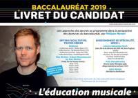 Education musicale (L'), Baccalauréat 2019