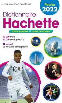 Dictionnaire Hachette encyclopédique de poche 2022