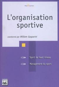 L'organisation sportive