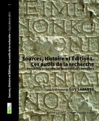 Sources, histoire et éditions