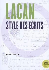 Lacan, style des écrits