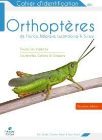 Cahier d'identification des orthoptères de France, Belgique, Luxembourg & Suisse