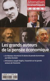 Alternatives économiques poche, hors série. n° 57, Les grands auteurs de la pensée économique