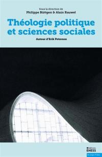 Théologie politique et sciences sociales