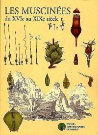 Les muscinées du XVIe au XIXe siècle
