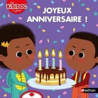 Joyeux anniversaire !