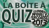 La boîte à quiz Guinness world records 2013