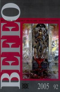 Bulletin de l'Ecole française d'Extrême-Orient. n° 92, Angkor