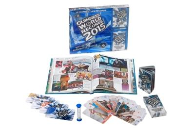 Coffret luxe Guinness world records 2015