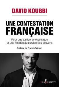 Une contestation française